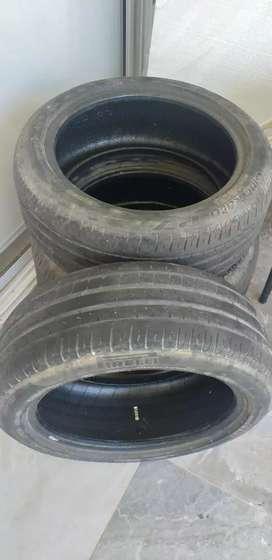 Cubiertas usadas marca pirelli