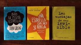 Combos de Libros de John Green + Stephen Chbosky