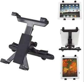 Soporte Universal iPad Para Cabezal Carro - Tablet