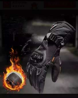 Guantes para motociclista impermeables