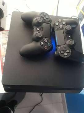 Sony Playstation 4 Slim 1tb Standard Color Jet Black
