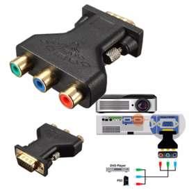 Adaptador VGA a 3 RCA