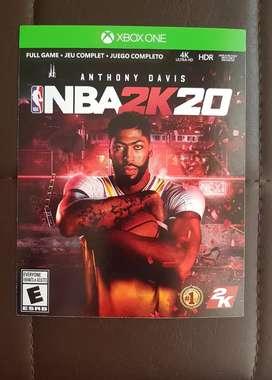 Codigo NBA 2K20 Xbox one