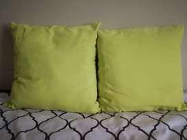 2 almohadones para sala o dormitorio