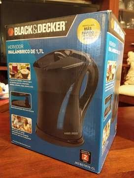 Pava eléctrica Black&Decker Nueva 1,7L Cordless Kettle