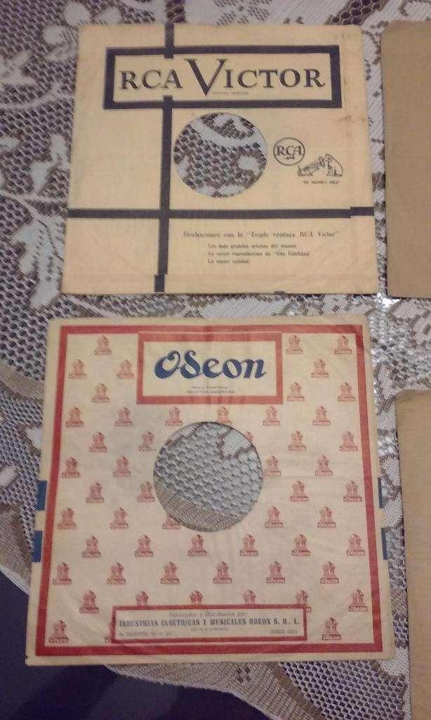 PROTECCION DE ANTIGUOS DISCOS 78 RPM 0