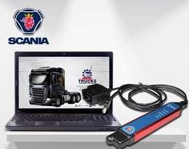 Escaneo de Camiones y motores Scania