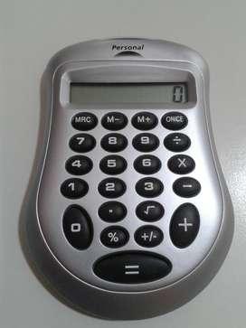 Calculadora con publicidad de Personal