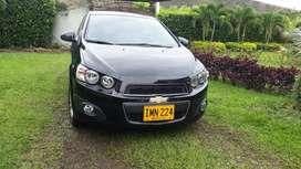 Chevrolet Sonic Automatico Motor 1.6 2016 Negro 4 Puertas