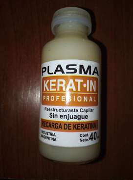 PLASMA RECARGA DE KERATINA