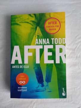 After 0 Antes de ella Anna Todd Libro