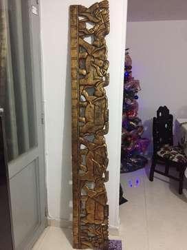Hermoso frizo de madera traido de indonesia