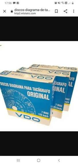 Discos de tacografos VDO
