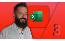 Excel Masterclass 3 Experto (vba + Programación + Macros)