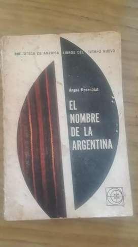 El Nombre de la Argentina