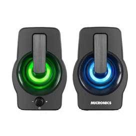 Parlante Micronics 2.0 Neon – MIC S307
