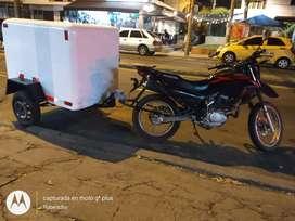 Vendo tráiler para transporte de alimentos