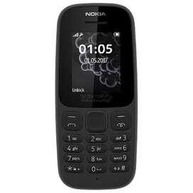 Celular Económico Barato Nokia 105 2017 Radio Linterna Mp3g