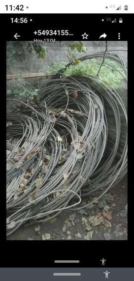 cable  USADO desnudo de aluminio 1400 m