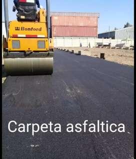 CARPETA ASFALTICA Y FRESADO