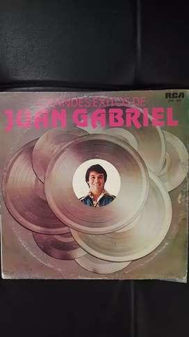 LP,disco,acetato,vinilo,Juan Gabriel exitos