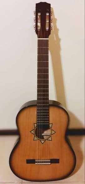 Guitarra clásica Romántica C boca estrella