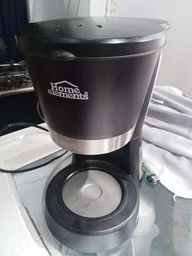 Cafetera Electrica Home Elements, Como Nueva Sin La Jarra