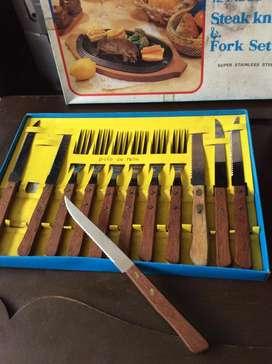 cubiertos set nuevos acero japones cuchillos cocina envio toda colombi