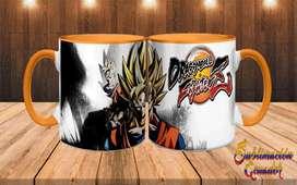 Tazas Personalizadas Dragon Ball/ Jarros Sublimados