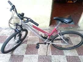 Bicicleta aro 26 de aluminio