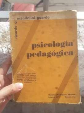 Libro psicologia pedagogica