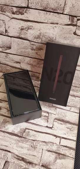 Samsung Note 20 Mystic Gray Nueva 256 Gbytes