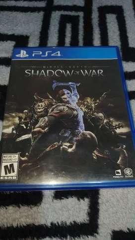 Shadow of war usado para ps4