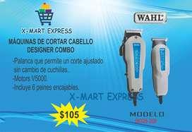 Máquinas de Cortar Cabello Desginer Combo WAHL