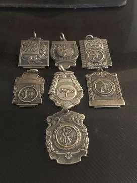 Medallas Deportivas de Plata