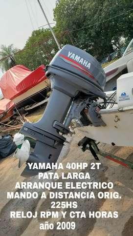 Motor nautico YAMAHA 40HP 2t pata larga