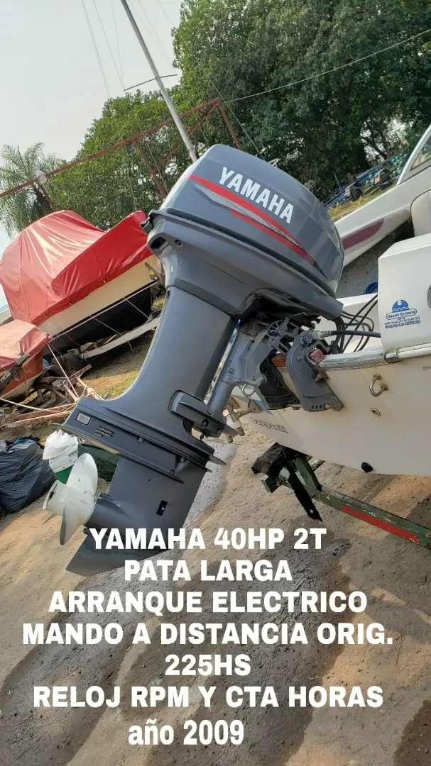 Motor nautico YAMAHA 40HP 2t pata larga 0