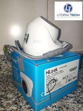 Cámara Hilook Domo Plástico. THC-T120-P 1080