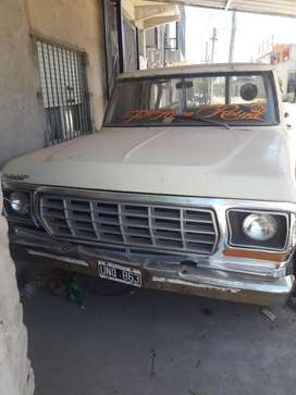 Vendo Ford F100 Gnc