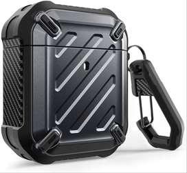Case 360° Airpods 1° 2° Gen Protector con Gancho Supcase UB Pro