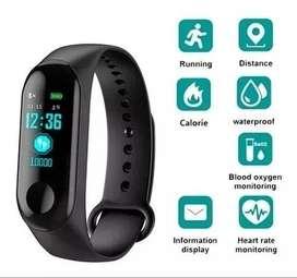 Reloj Pulcera Smartwatch M3 Smartband Ritmo Cardiaco $am