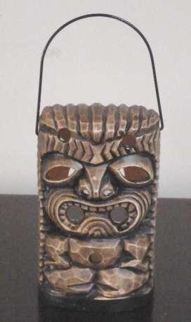 Lámpara en Forma de Mascara