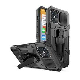 Estuche Protector Antichoque Armor Bracket Iphone 12 Pro Max 6,7