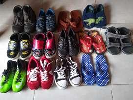 Ganga lote zapatos niño