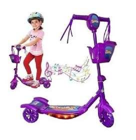 Patineta Scooter Monopatín Luces Y Musica Infantil Divertida