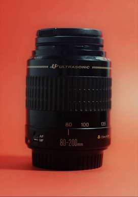 Lente Canon 80-200mm f 4.5-5.6, ultrasonic