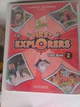 "Libro ""first explorers 2"""