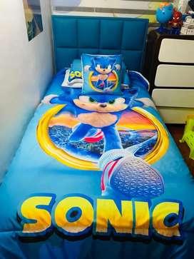 Edredon Sonic