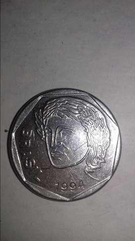 25 centavos de cruzeiro...1994.