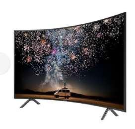 "TV Samsung 49"" UHD Curve Serie 7 Smart"